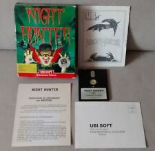 NIGHT HUNTER UBI SOFT POUR AMSTRAD CPC 464 664 6128