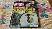 ZZ- REVISTA MAGAZINE BATERIA TOTAL Nº9 - METALLICA - EVELYN GLENNIE - MIKE COX