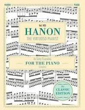 Hanon: IL PIANISTA VIRTUOSO in sessanta esercizi, COMPLETO (Schirmer della libreria...