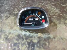 honda cd 175 twin cb175 speedo clock speedometer instrument gauge dial barn find