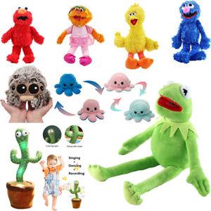 Dancing Cactus Cartoon Anime Muppets The Frog Plush Doll Soft Stuffed Plush Toy
