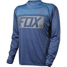 Fox Indicator Prints MTB Jersey - Heather Blue - Large (HOT BUY)