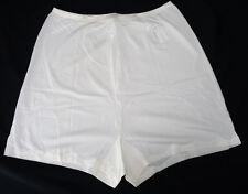 Nos Vintage Vanity Fair Simple White Scallop Stitch Tap Panties Deadstock 7 L