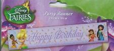 TINKER BELL GIANT BIRTHDAY PARTY BANNER ! Bigger & Better Size 150 X 30 CM !