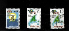 Malaysia, 1984 Labuan formation, complete set MNH and $1 used (M457)