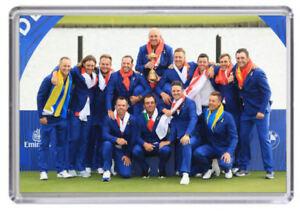 Ryder Cup 2018 Golf Europe winners Fridge Magnet 02
