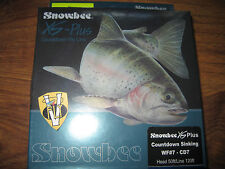Snowbee XS Plus Countdown Blue CD7 WF7 Nano Sinking Trout Fly Line 7IPS