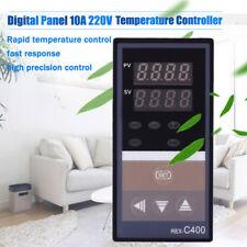 REX-C400 Digital Panel 10A AC220V Intellgent Temperature Controller Relay Output