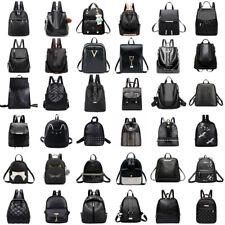 Women Backpack Leather Shoulder Bag Tote Handbag Travel Satchel Rucksack Purse