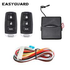 Easyguard universal dc12v car keyless entry system remote lock unlock panic mode