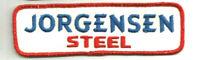 JORGENSEN STEEL driver/employee advertising patch 1-3/4 X 5-7/8 #1582