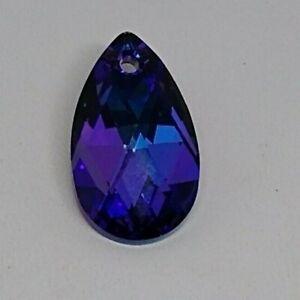 Swarovski Crystal Purple Heliotrope Pear 6106 Pendant; 2 Size: 16mm, 22mm