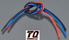 TQ Wire 13 Gauge ESC Wire 1' Black Red Blue TQ1303 Losi Tekno Traxxas Assciated