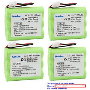 Kastar 3.6V Ni-MH 1600mAh Battery Replace for DANTONA BATT-4165 PSPT3H4AAU41