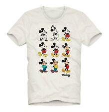 T-shirt MC2 Saint Barth uomo mickey mouse story avorio PE20