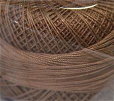Lizbeth Cordonnet Cotton Thread -Size 80 Color 691 Medium Mocha Brown