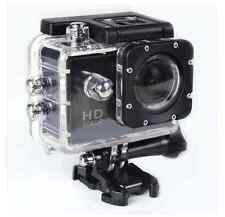 SJ4000 HD 1080P 12MP Bicycle Helmet Sports DVR DV Action Waterproof Camera black