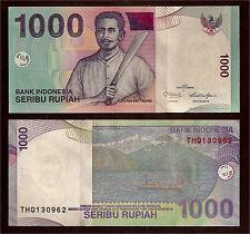 World Paper Money - Indonesia 1000 Rupiah 2013 @ Crisp UNC