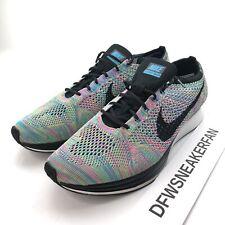 New Nike Flyknit Racer Men's 12.5 Multicolor Shoes 526628 304