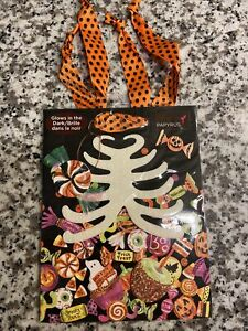 Papyrus Halloween Gift Bag - Skeleton Glow in The Dark w/ Candy