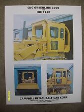 RARE CDC Greenline for International Harvester IHC 175C Campbell Cab corp Flyer