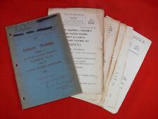 VINTAGE 1953 Infantry Training Manual ROCKET LAUNCHER Aust/British Army ORIGINAL