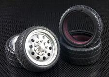 GPM Roadtech TYRE889F/R GPM Tamiya CC-01 Radial Tyre 26mm x2
