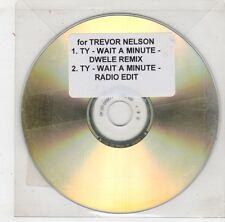 (HB620) TY, Wait A Minute - 2003 DJ CD