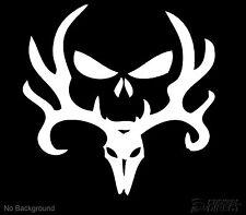 Deer Skull Punisher Decal Vinyl Sticker 140mm Cars Windows Walls Buy 2 Get 1Free
