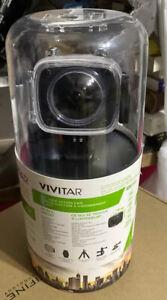 VIVITAR 360 Degree View Action Cam   Dual Lens 4K   Built In WiFi DVR-978HD-BLK
