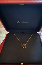 Cartier Trinity 18ct Yellow Gold Necklace