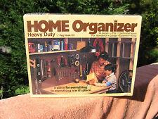 "Home Organizer Heavy Duty 1/4"" Peg Hook Kit 34 Pcs.~Peerless Chain Co.~New"