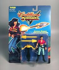 1993 CADILLACS & DINOSAURS HANNAH DUNDEE Scientist Action Figure MOC Tyco
