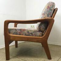 60er 70er Jahre Teak Sessel Easy Chair Juul Kristensen Danish Design Denmark 60s