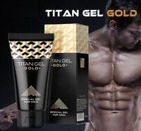 ⭐️⭐️⭐️⭐️⭐️ WOW! Premium ORIGINAL Titan Gel GOLD Penisvergrößerung 50 ml ****