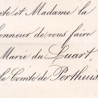 Marie Le Gras Du Luart Paris 1867 Hippolyte De Perthuis
