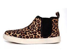 4aa7e9d5dd3d Steve Madden  Elvinn  Genuine Calf Hair Leopard High Top Sneaker 4654 ...