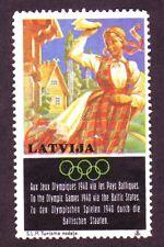 LATVIA LETTLAND Olympiad 1940s REVENUE STAMP 473