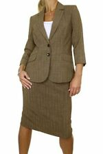 Polyester Pinstripe 2 Piece Jacket Women's Suits & Tailoring