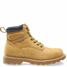 Wolverine Men's Floorhand 6 Inch Waterproof Soft Toe Work Shoe 11.5 Wheat