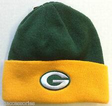 NFL Green Bay Packers Reebok Kids Knit Cuffed Hat Beanie Cap NEW!