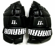 "New Warrior Fatboy box lacrosse goalie gloves 12"" black Lax indoor goal tender"