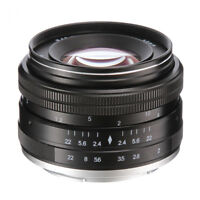 50mm f/2.0 Manual Focus Fixed Lens For Olympus Panasonic M4/3 Micro Four Third