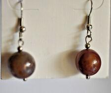 Ohrringe - Hänger  mit Perlen  - OHS  Nr. 19