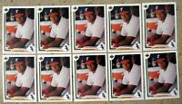 Frank Thomas 1991 Upper Deck #246 Rookie RC Chicago White Sox 10ct Card Lot