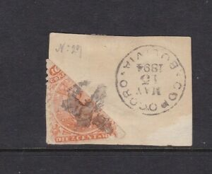 Bolivia bisect on piece