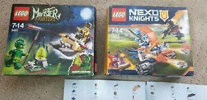 2x Lego Monster Fighter 9461 + Nexo Knights 70310