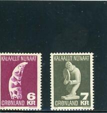 Greenland 1977 Scott# 102-3 mint Nh