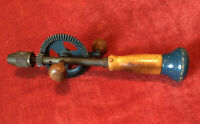 Vintage Samson Hand Drill Auger Bit Brace USA