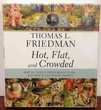 HOT FLAT & CROWDED Green Revolution 7 CD Audio Book Thomas Friedman NEW Sealed